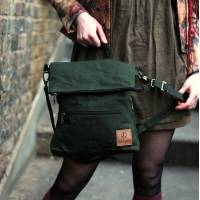 Amelie Convertible Ruckbag Green Vegan