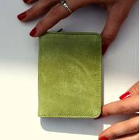 Francesca Small Apple Green Wallet