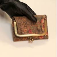 Frame Purse Wallet Floral