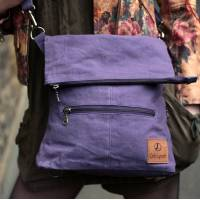 Convertible Ruckbag Purple Vegan
