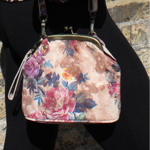 Clip Bag With Floor Floor Floral n14 Print