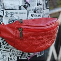 Padded Bumbag Red