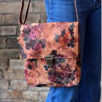 Envelope Printed Floral 14 Leather