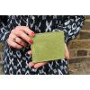 Apple Green Leather Wallet