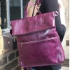 Amelie Purple Backpack