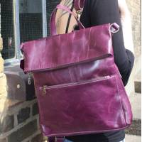 Amelie Purple Rucksack Convertible
