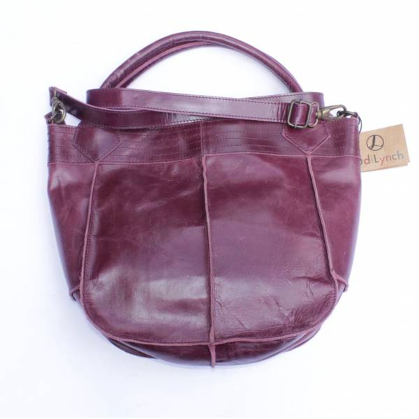 Bach Small Tote Purple Leather