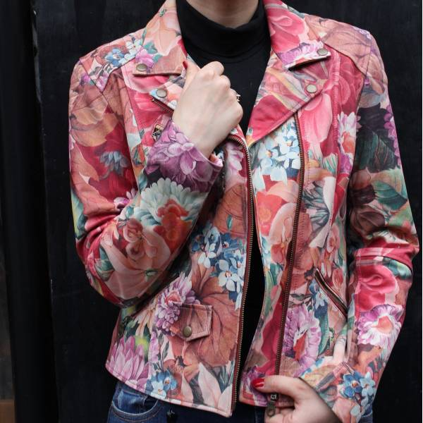 Biker Jacket French Art