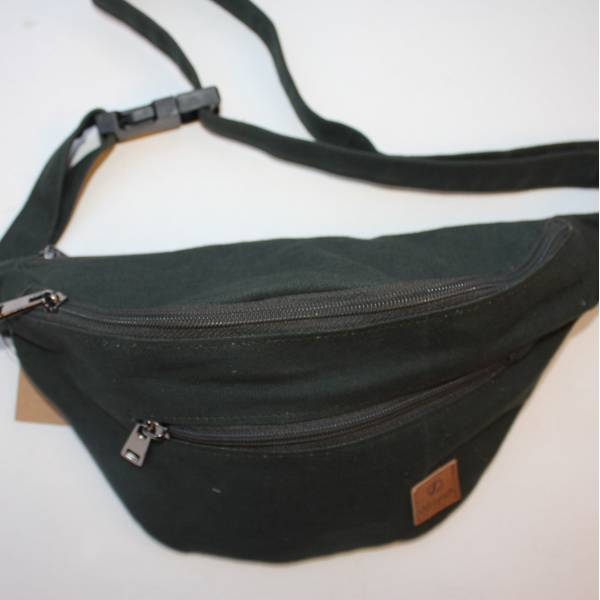 Bumbag Dark Green Vegan