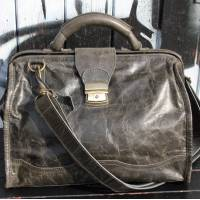 Doctor Bag Large Charcoal