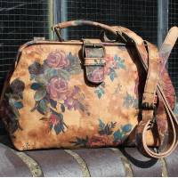 Doctor Bag Small Autumn Floral