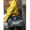 Doctor Bag Large Black Leather