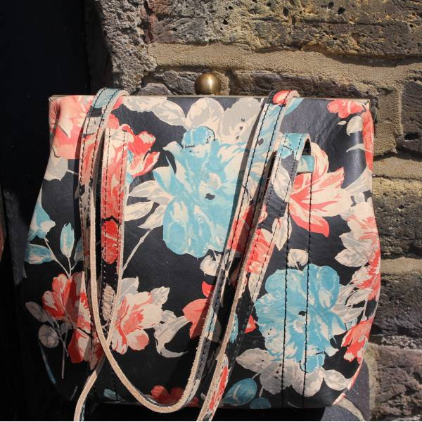 Dolly Spanish Floral Leather Bag