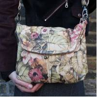 Dublin Medium Bag Floral Leather