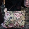 Dublin Medium Zip Bag Floral 14 Leather
