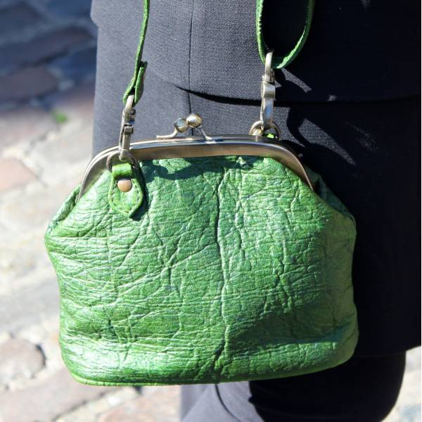 Evanna Clip Bag Pineapple Leaf