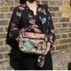 Funky Bag Spanish Floral Leather Mini Satchel