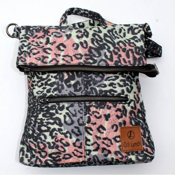 Amelie Backpack Vegan  -  Leopard Print