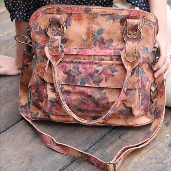 Shoulder Crossbody Bag Floral Print