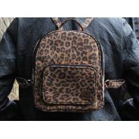 Mini Rucksack Leopard Animal Print Cork