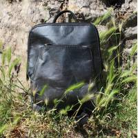 Teakleaf Charcoal Backpack