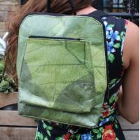 Teakleaf Green Backpack