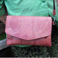 Teakleaf Mini Crossbody Vegan Bag Pink
