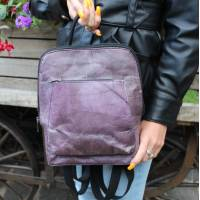 Teakleaf Purple Backpack