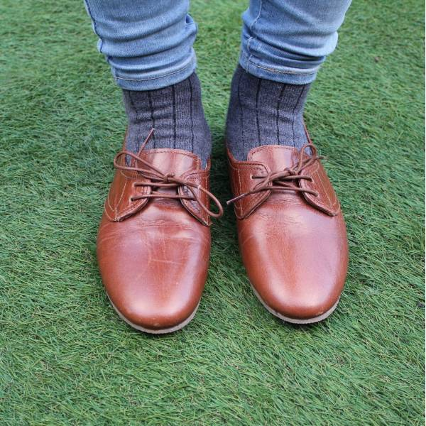 Odilynch Shoes - Tan Leather