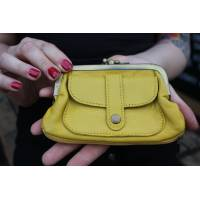 Amy purse -  yellow
