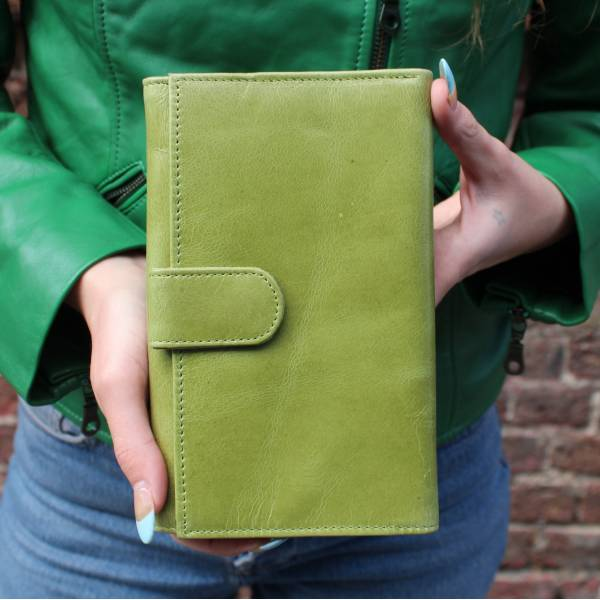 Large Travel Wallet  Green