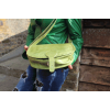 Isabelle Saddle Bag Apple Green Leather Medium