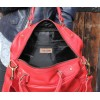 Jackie Tote Red Leather