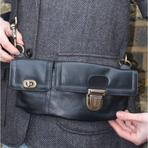 Convertible Bumbag Black