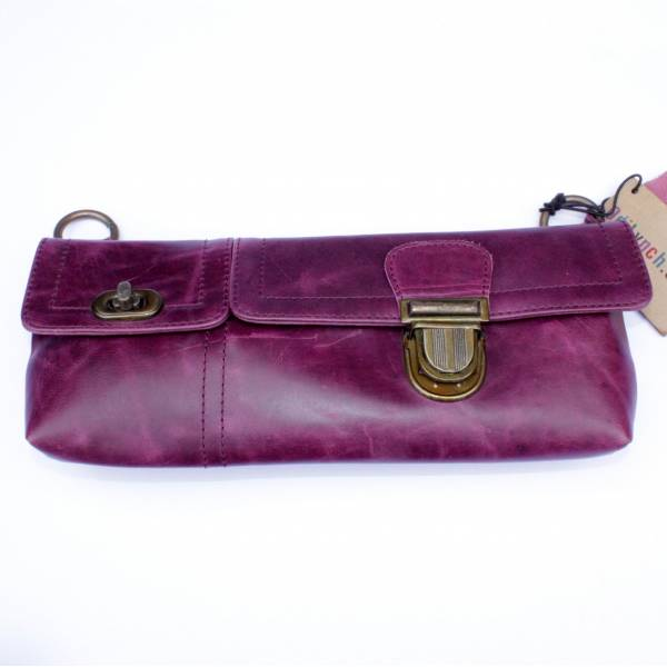 Jilly Bumbag Purple Leather