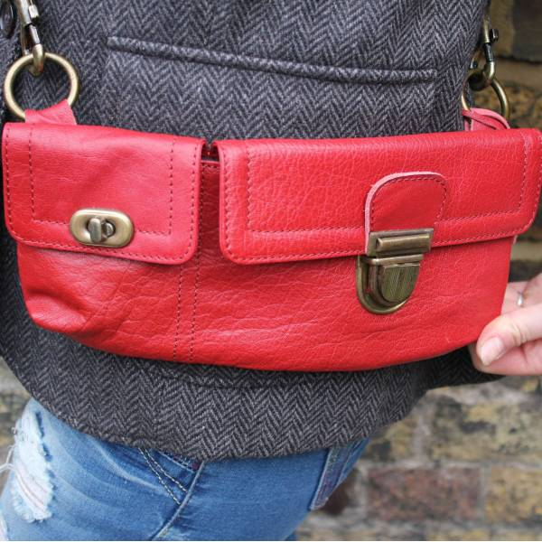 Convertible Bumbag Red