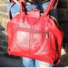 Lucy Frame Bag Red Leather