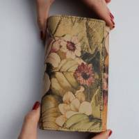 Madamzel Italian Floral Leather Wallet
