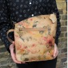 Marina Floral Leather Bag