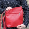 Marina Red Leather Bag