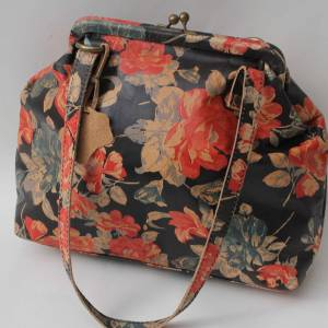 Maya Floral Leather