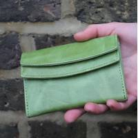 Meirn Apple Green Leather Wallet