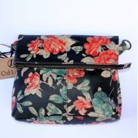 Mini Amelie Foldover Spanish Floral Leather Bag