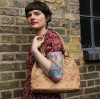 Nora Tote Bag Floral Leather