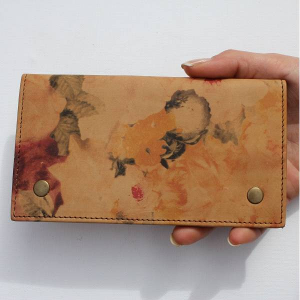 Rainy Sunday Floral Tobacco Pouch