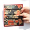 Rainy Sunday Red And Floral Tobacco Pouch