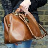 Doctor Bag Medium Tan Smooth  Leather