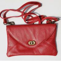 Sligo Clutch Twister Red Leather