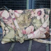 Sligo Clutch and Crossbody Italian Art Printed Leather Bag