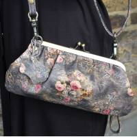 Superclutch Spring Floral Framed Clip and Clutch
